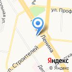 Федерация бокса Алтайского края на карте Барнаула
