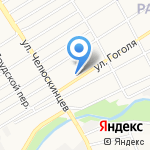 Шино-Диск на карте Барнаула