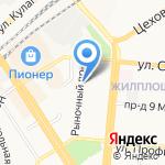 Саша и Даша на карте Барнаула