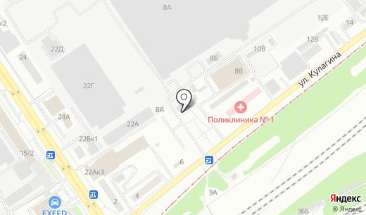 Автокурьер. Схема проезда в Барнауле