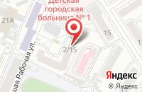 Схема проезда до компании Издательский Дом Корпорации «Энтрон» в Барнауле