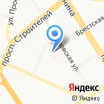 А4 на карте Барнаула