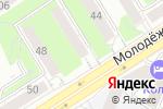 Схема проезда до компании МИЛАН в Барнауле