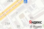 Схема проезда до компании Dance Spanish Studio в Барнауле