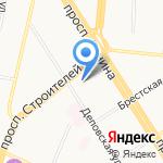 Эмерком на карте Барнаула