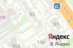 Схема проезда до компании Маркетинговая мастерская Алексея Беловолова в Барнауле