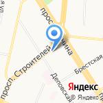 Газпром межрегионгаз Новосибирск на карте Барнаула