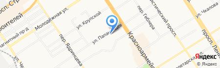 PROдвижение на карте Барнаула
