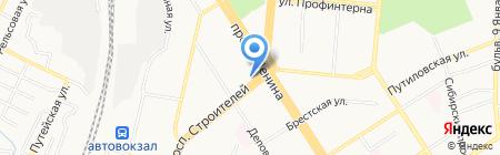Ткани. Швейные машины на карте Барнаула