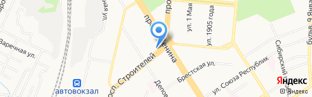 Sewclub.ru на карте Барнаула