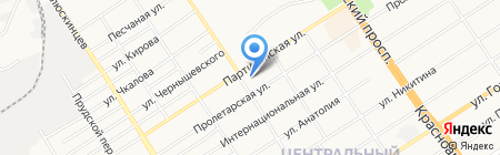 Барнаульская епархия Русской Православной Церкви на карте Барнаула