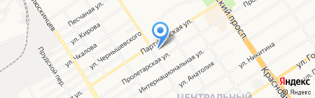 Паломнический центр на карте Барнаула