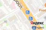 Схема проезда до компании Планета обуви в Барнауле