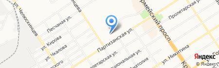 Продуктовъ на карте Барнаула