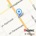 Форне на карте Барнаула