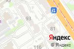 Схема проезда до компании Розница 3 в Барнауле