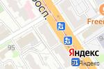 Схема проезда до компании 7 роз в Барнауле