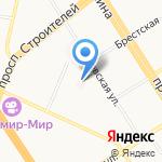 Краевая стоматологическая поликлиника на карте Барнаула