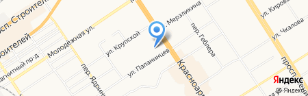 Алтаймастер на карте Барнаула