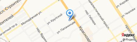 Привал на карте Барнаула