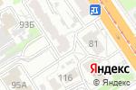 Схема проезда до компании Веритас в Барнауле
