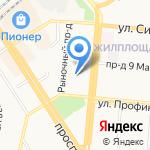 Общественная приемная депутата Барнаульской городской думы Касплера В.В. на карте Барнаула