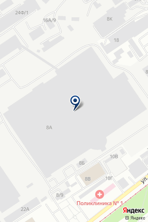 Maybe L на карте Барнаула