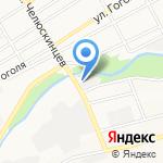 Рынок дров на карте Барнаула