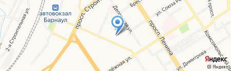 Зефир бьюти на карте Барнаула