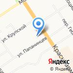Всероссийское общество слепых на карте Барнаула