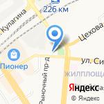 ДПШ им. В.В. Репина на карте Барнаула