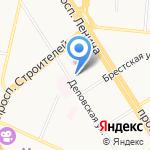 Инваспорт на карте Барнаула