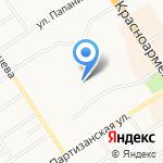ДЮСШ им. Алексея Черепанова по хоккею на карте Барнаула