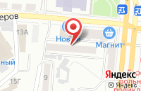 Схема проезда до компании Реал в Барнауле