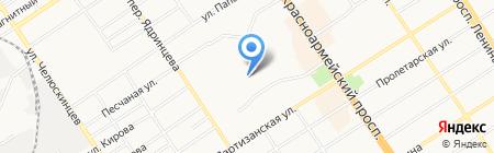 ДЮСШ-Хоккей им. А. Черепанова на карте Барнаула