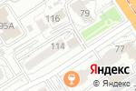 Схема проезда до компании Квартирный Вопрос в Барнауле