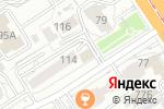 Схема проезда до компании Доктор Мартин в Барнауле