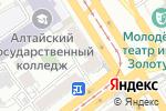 Схема проезда до компании Мир цветов в Барнауле