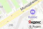 Схема проезда до компании Продукты Элис в Барнауле