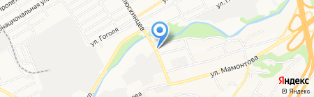 Веста на карте Барнаула