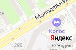 Схема проезда до компании Мята в Барнауле