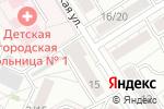 Схема проезда до компании Алтайвзрывпром в Барнауле