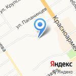 САНАДЕНТ на карте Барнаула