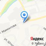 Антей на карте Барнаула