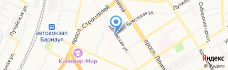 АлтайТИСИз на карте Барнаула