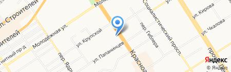 Ellen Kloss на карте Барнаула