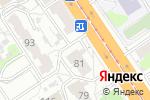Схема проезда до компании Термомикс-Алтай в Барнауле