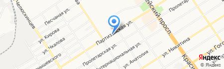 Алтайагроспецотделение на карте Барнаула