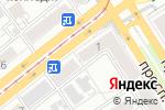 Схема проезда до компании Всё для шитья и рукоделия в Барнауле