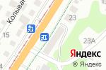 Схема проезда до компании Магазин продуктов в Барнауле